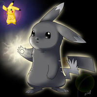 Forsed evolved pika by Bestary