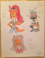 The Foxes and the Platypus by Camilia-Chan