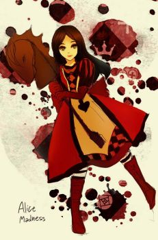 Alice Madness doodle by ciceon