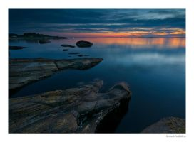 Night at Olberg by KennethSolfjeld