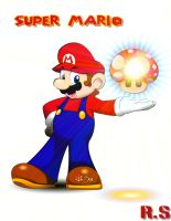 Super Mario Vector by Rafeal