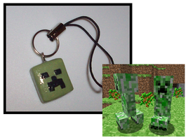 Creeper Charm by UniqueTreats