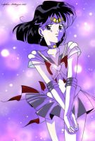 sailor saturn space by stefanolattanzio