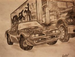 Smokey and the Bandit by roberthunt