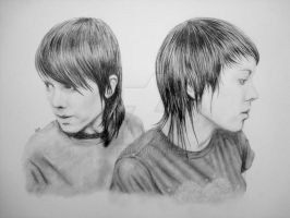 Tegan and Sara. by ZGeorge