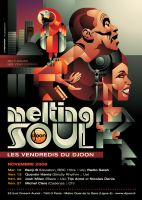 Melting Soul: Nov09 Poster by prop4g4nd4