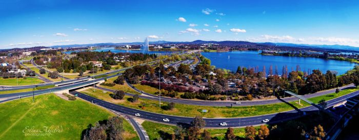 Canberra Panorama by eileenel