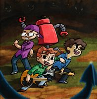 4 Player co-op , insert coin to play by lizspit