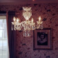kathleen's chandelier by theunhappiestone