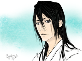 Byakuya Kuchiki by Lovelorn-Insanity