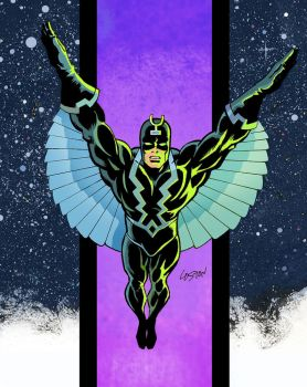 Blackbolt  Sketch Colors by LostonWallace