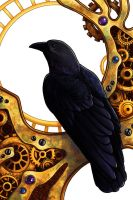 Clockwork Crow by SpaceTurtleStudios