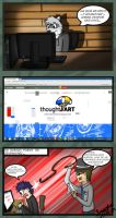 La verdad de ThoughtART  (comic) by Riggs-Schroud