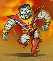 Tom Bancroft's Colossus by sketchandthecity