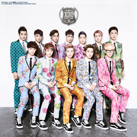 EXO COMEBACK XOXO COLORED by l0vehcl