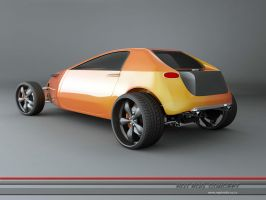 hotrod concept -5 by 3dmanipulasi