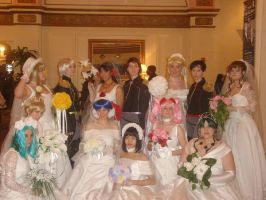 Sailor Moon Wedding by Kerberos-of-the-Pit