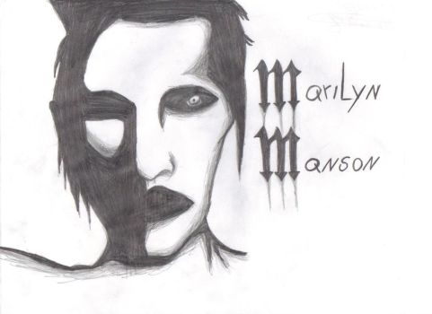 Marilyn Manson by Kenshincita