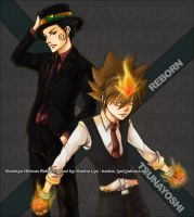 KHR: Adult Reborn+ Vongola10th by kari-neko
