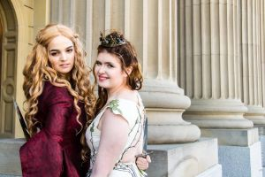 Cersei Lannister and Margaery Tyrell - GoT by Shrimpssss