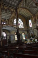 Interior of Cathedral Saint Louis by A1Z2E3R