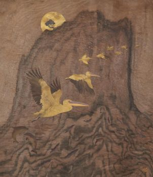Southern Migration - Marquetry by amazoncanvas