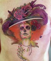 Day of the DeaD tattoo by mojoncio