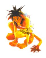 Red XIII Anime North 2010 by draikeela323