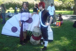 Gaara and Temari by WillowTreeWitch