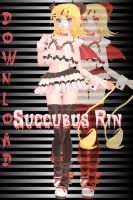 RxNxD .:HALLOWEEN:. Succubus Rin DOWNLOAD by RinXNeruXD