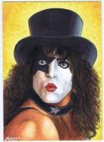 Paul Stanley PSC commission by jenchuan