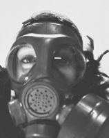 Gas mask glamour by thecapricorn