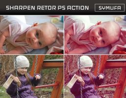 SHARPEN RETRO PHOTOSHOP ACTION 0015 by symufa