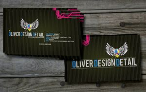 ODD BUSINESS CARD VERSION 2 by MolefaceNZ