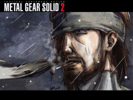 Snake::MGS2 by a3107