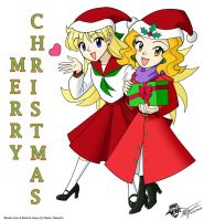 Mina and Mimete for Christmas by ArthurT2013