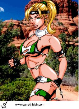 Savage Land Sonya by Mythical-Mommy