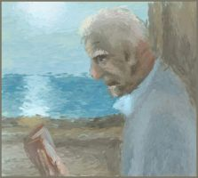 the old man and the sea by Karangond