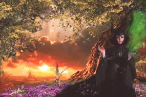 Entry Contest: Maleficent and her Kingdom by Jassy2012