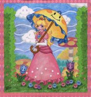 Peach Pastoral by irk