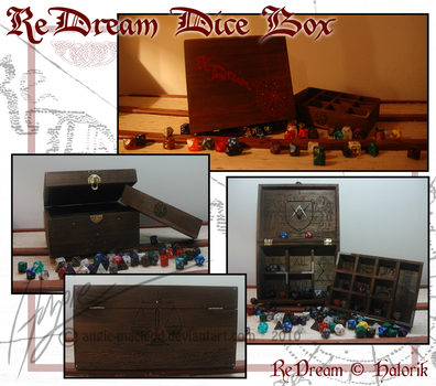 ReDream Dice Box by ValkAngie