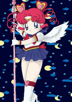 Sailor Chibi Chibi Moon by Blackmoonrose13