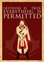 Ezio Poster 2 by Procastinating