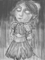 Little Sister Pencil by abgarok