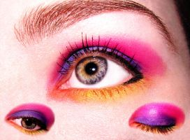 Rainbow make up by Forgotemme