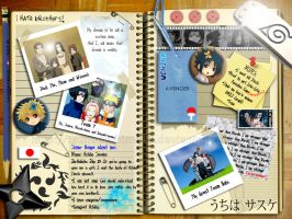 Sasuke's Notebook by JoviClaire