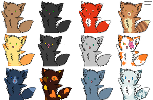 Kylie's top 12 fave cats (female) by Honey-PawStep