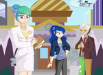 Equestria City: Canterlot Hall by teammagix