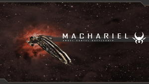 Eve: Machariel Wallpaper by foxgguy2001