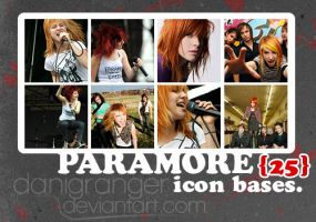 Paramore bases by danigranger